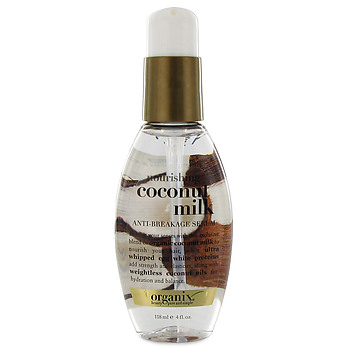 product review organix coconut milk anti breakage serum